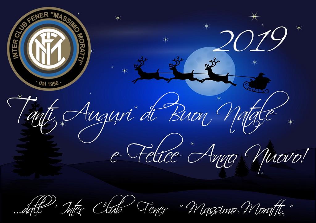 Auguri Di Buon Natale Inter.Auguri Di Buone Feste 2019 Inter Club Fener Massimo Moratti