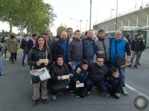 Fiorentina-Inter con visita di Firenze, 22/04/2017