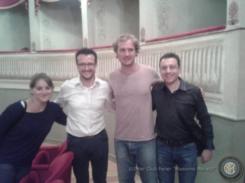Gianfelice Facchetti al Teatro de la Sena di Feltre - 18/09/2015