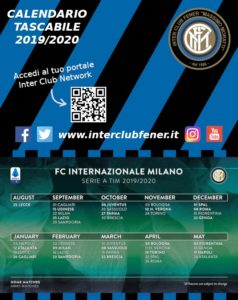 Calendario 2020 Tascabile.Calendario Tascabile Fener 19 20 Preview Inter Club Fener